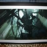 Destroyed GLaDOS Lithograph Framed