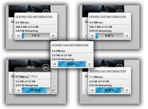 Downloading BF3 via Origin