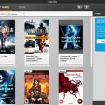 Origin Games Library Grid