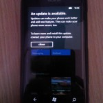 Lumia 800 Update Available